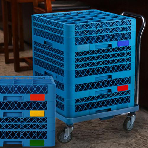 Khay nhựa đựng ly cốc - Rack để ly nhà hàng, Thương hiệu JIWINS, Dùng với máy rửa ly