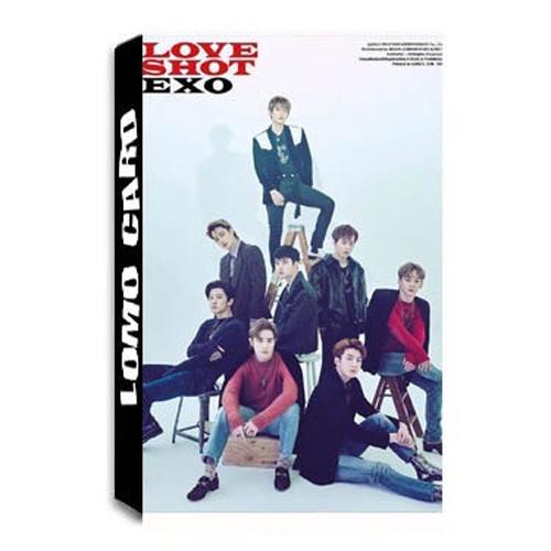 Bộ lomo card EXO Album LOVE SHOT
