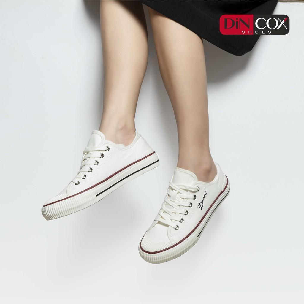 GIày Dincox Sneaker Nữ/Nam D21 White