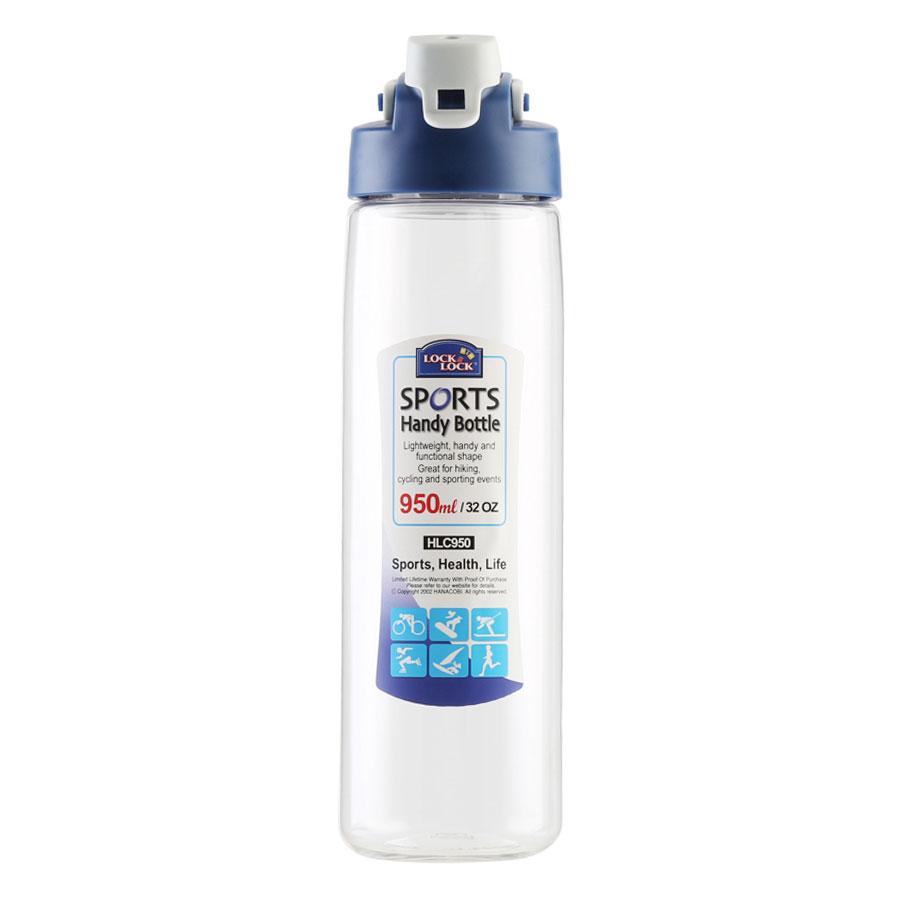 Bình Đựng Nước Lock&Lock HLC950 (950ml) - Màu Trong Suốt