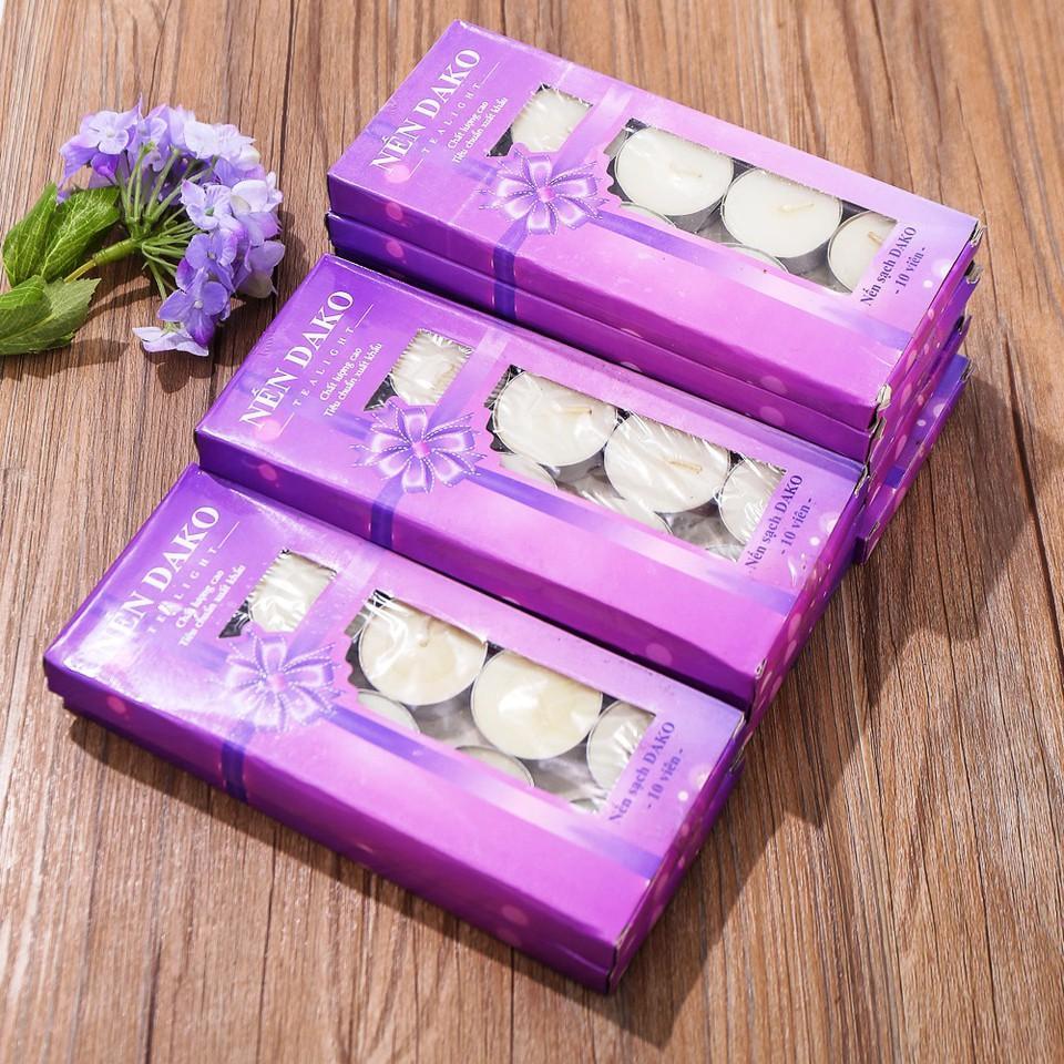 Combo 10 hộp/100 cốc nến sạch Dako - Hàng Việt Nam