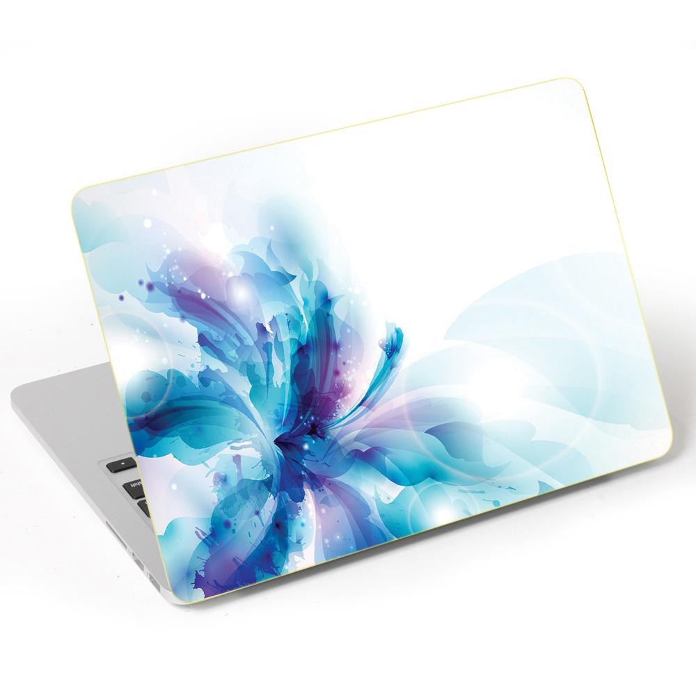 Miếng Dán Trang Trí Mặt Ngoài + Lót Tay Laptop Hoa Văn LTHV - 387