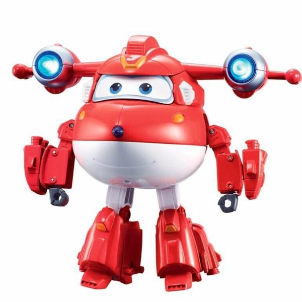 Robot Biến Hình Cỡ Lớn Có Đèn Và Âm Thanh - Jett Siêu Cấp Superwings YW740431