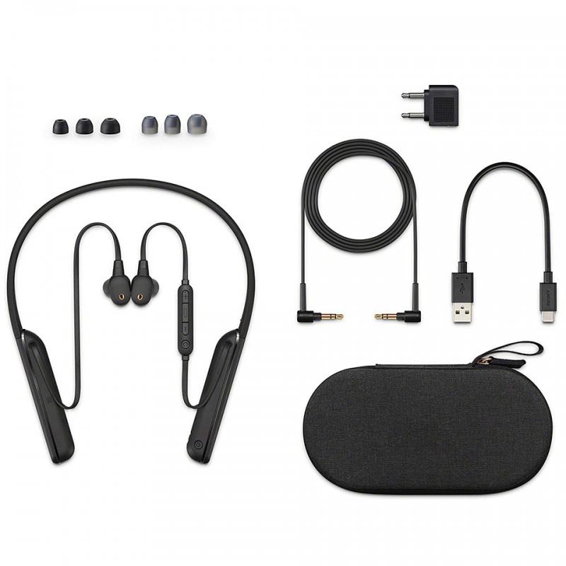 Tai nghe chống ồn không dây Sony WI-1000XM2 Đen - Chính hãng