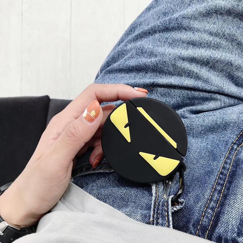 Airpods case - Ốp bảo vệ dành cho AirPods 1/2 - Fndi tròn