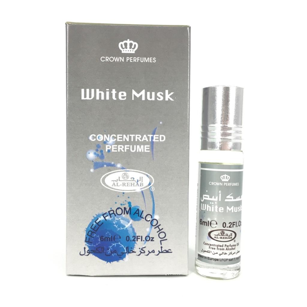 UNISEX - Tinh dầu nước hoa WHITE MUSK Al-Rehab  (hàng chính hãng )