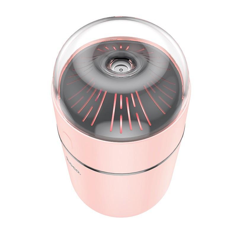 Máy phun sương mini thông minh Aroma pursue cao cấp , kích thước nhỏ gọn ( Hồng)- Hàng chính hãng