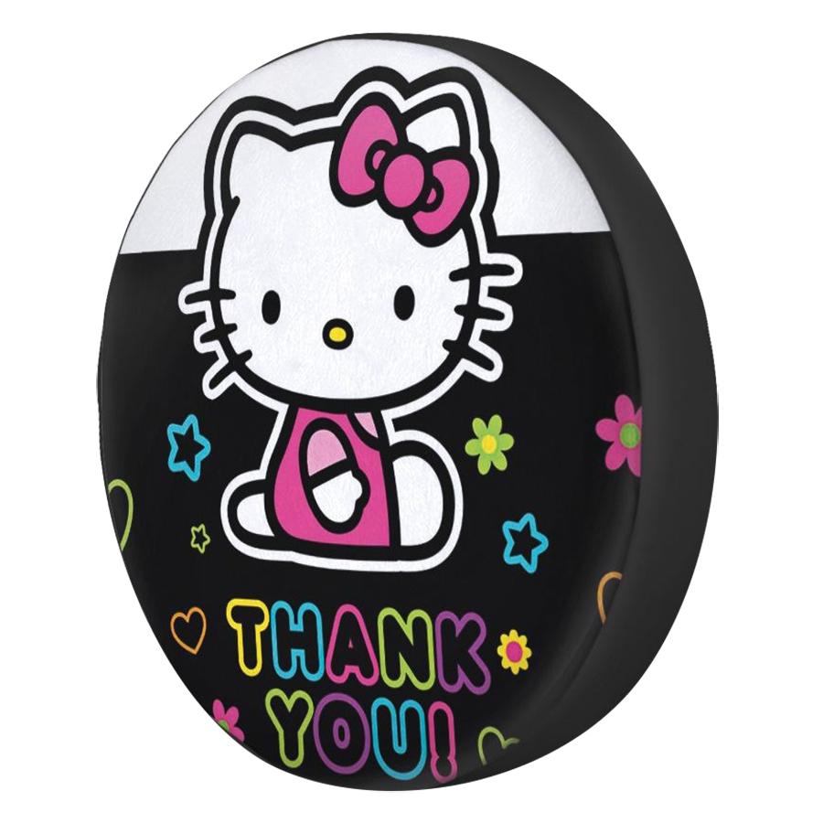 Gối Ôm Tròn Hello Kitty Thank You - GOCT020