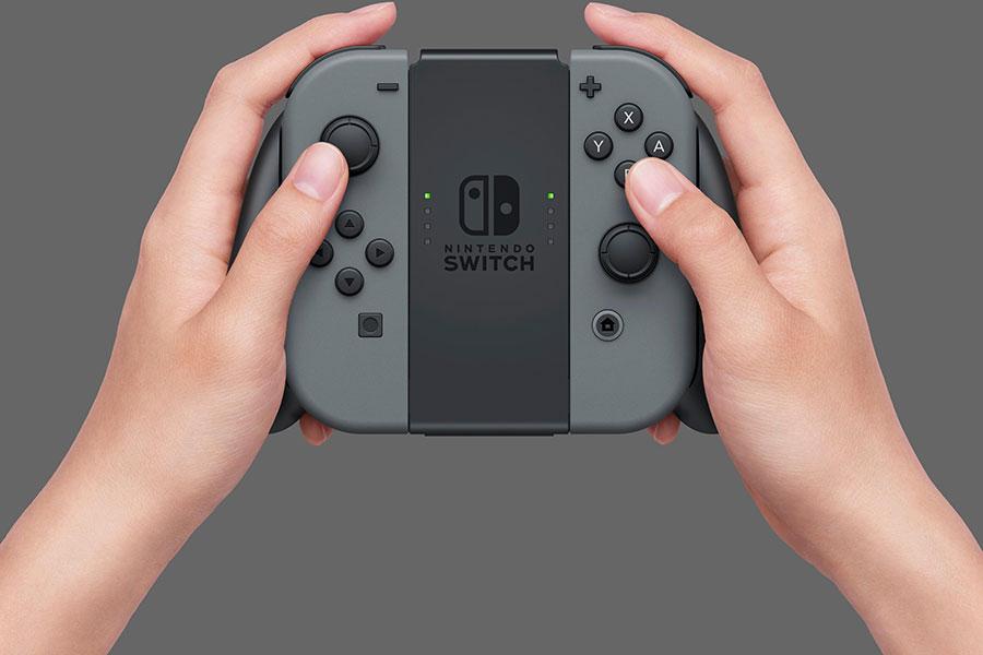 Máy Chơi Game Nintendo Switch Với Gray Joy-con (Xám) US Version - Hàng Nhập Khẩu