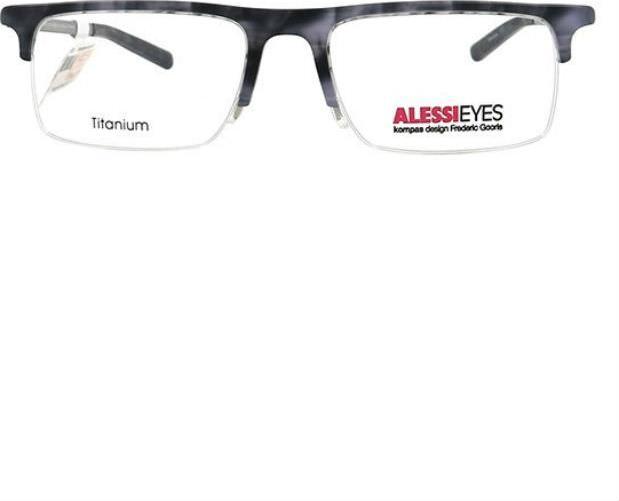 Gọng Kính Unisex Alessieyes AL60008 C01 - Đồi Mồi Trắng