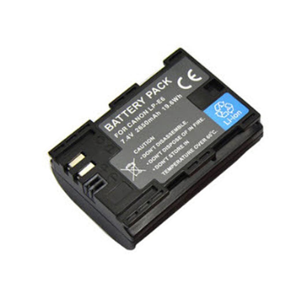 Pin for LP-E6 dung lượng cao 2650mAh dành cho Canon 60D, 70D, 6D, 7D, 5D MARK II, 5D MARK III, 7D II .