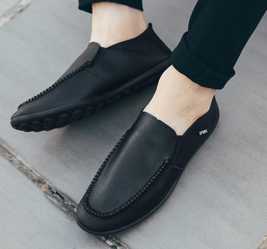 Giày Công Sở Da Nam, Giày Mọi TNX 14