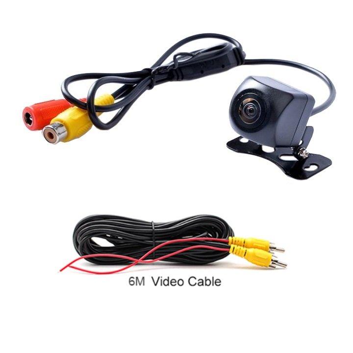 Camera lùi ô tô AHD độ nét cao dành cho màn hình ô tô, xe hơi, dây tín hiệu dài 6m (Mã: TJ-HS-XG-GJ)