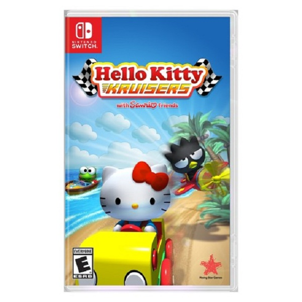 Đĩa game Nintendo Switch: Hello Kitty Kruisers - Hàng nhập khẩu