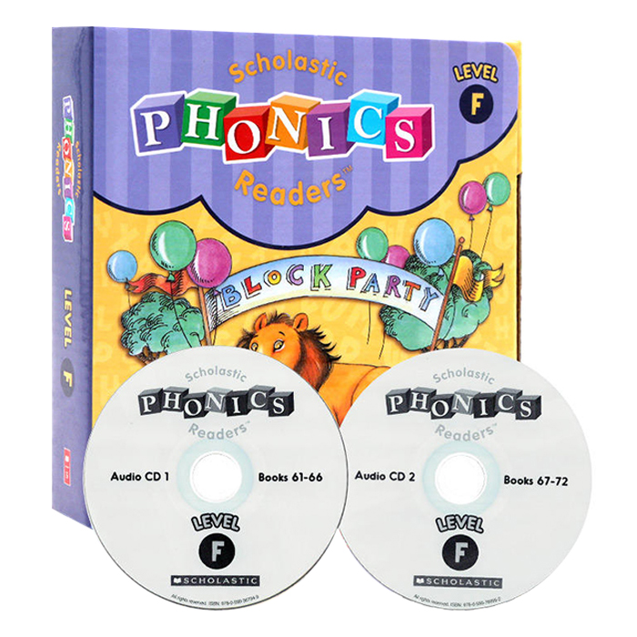 Scholastic Phonics Readers F (With Cd)