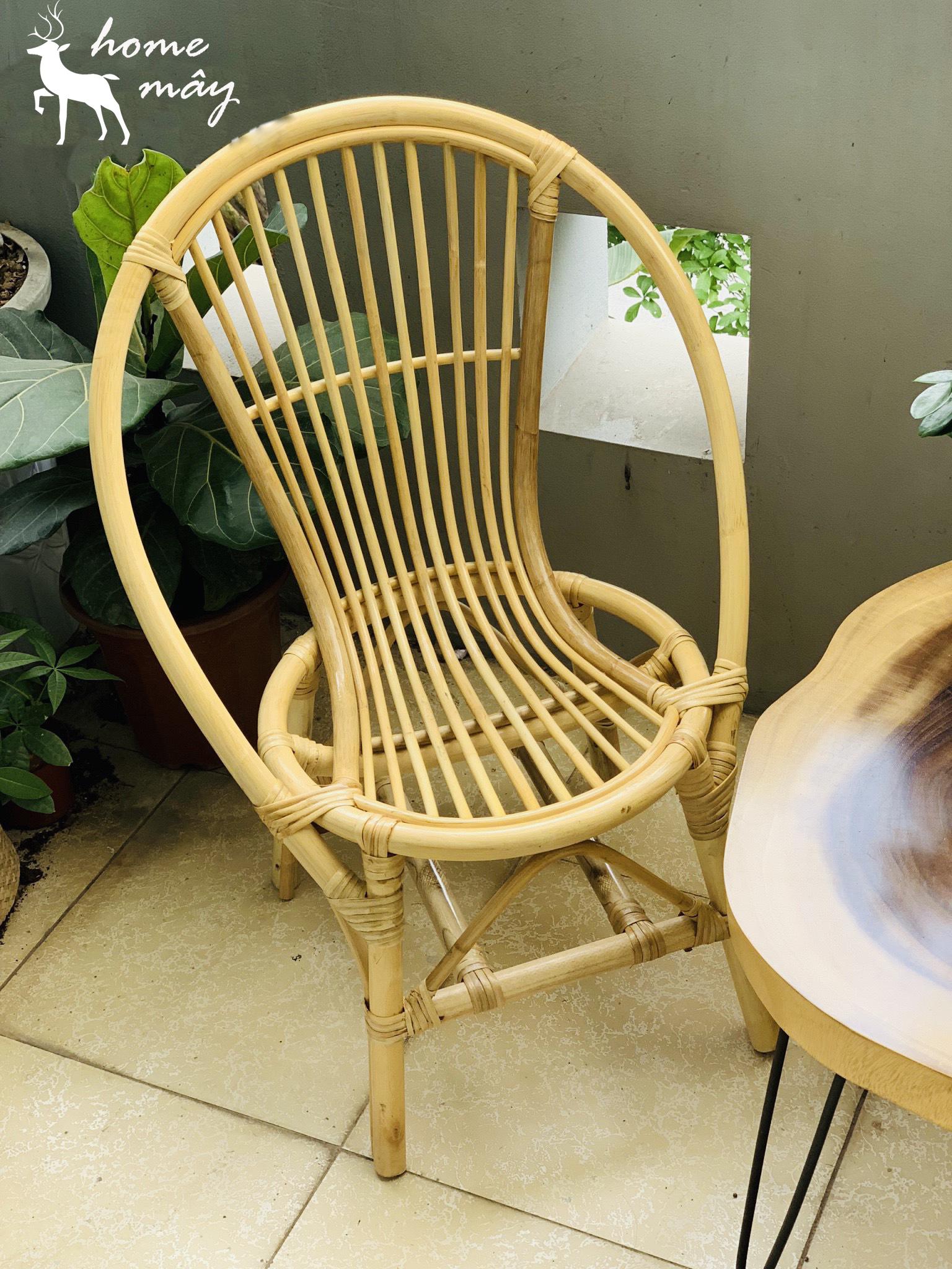 ghế mây tre đan ban công đẹp chất lượng cao