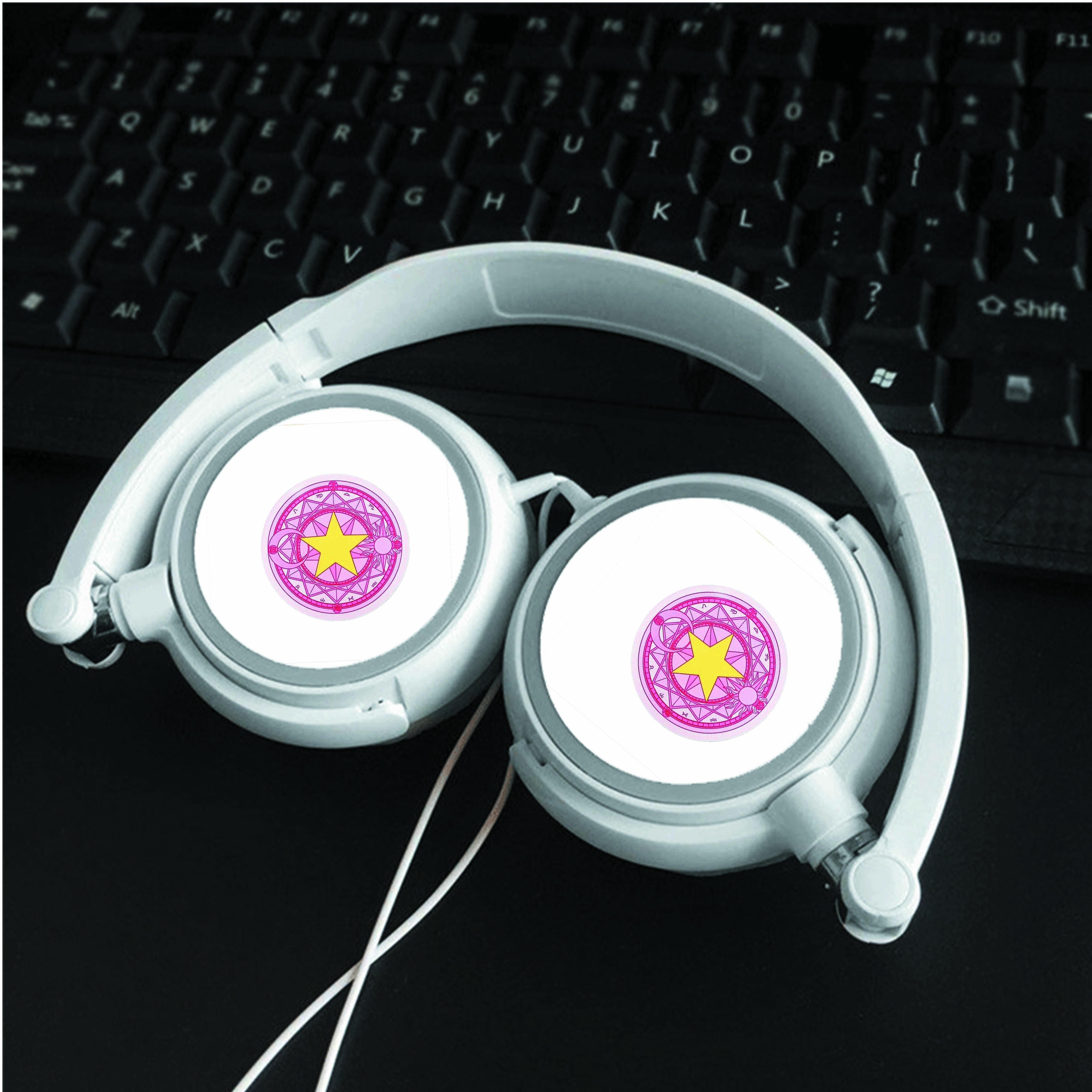 Tai nghe chụp IN HÌNH Cardcaptop Sakura - Thủ Lĩnh Thẻ Bài anime