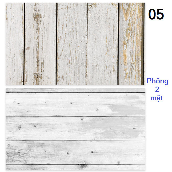 Tấm phông nền chụp ảnh 2 mặt 60x90cm mã 05