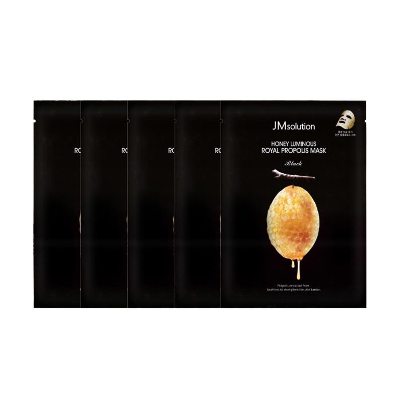 Combo 5 Mặt Nạ mật ong JM Solution Honey Luminous Royal Propolis (30ml) x5
