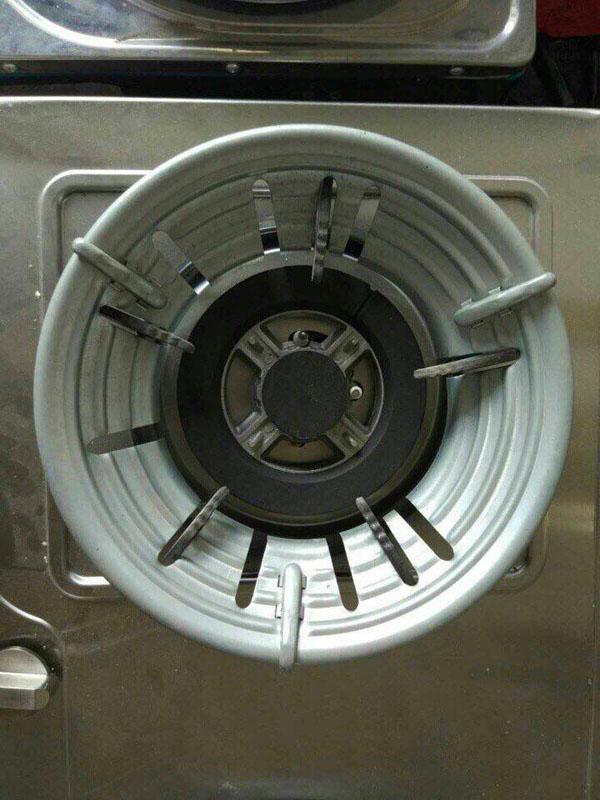 Phụ kiện bếp gas - Kiềng chắn gió bếp gas cao cấp tiết kiệm gas tối đa siêu tiện lợi