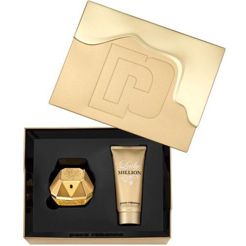 Bộ Set Nước hoa nữ Paco Rabanne Lady Million Gift Set Edp 80Ml + Body  Lotion 100Ml | Tiki