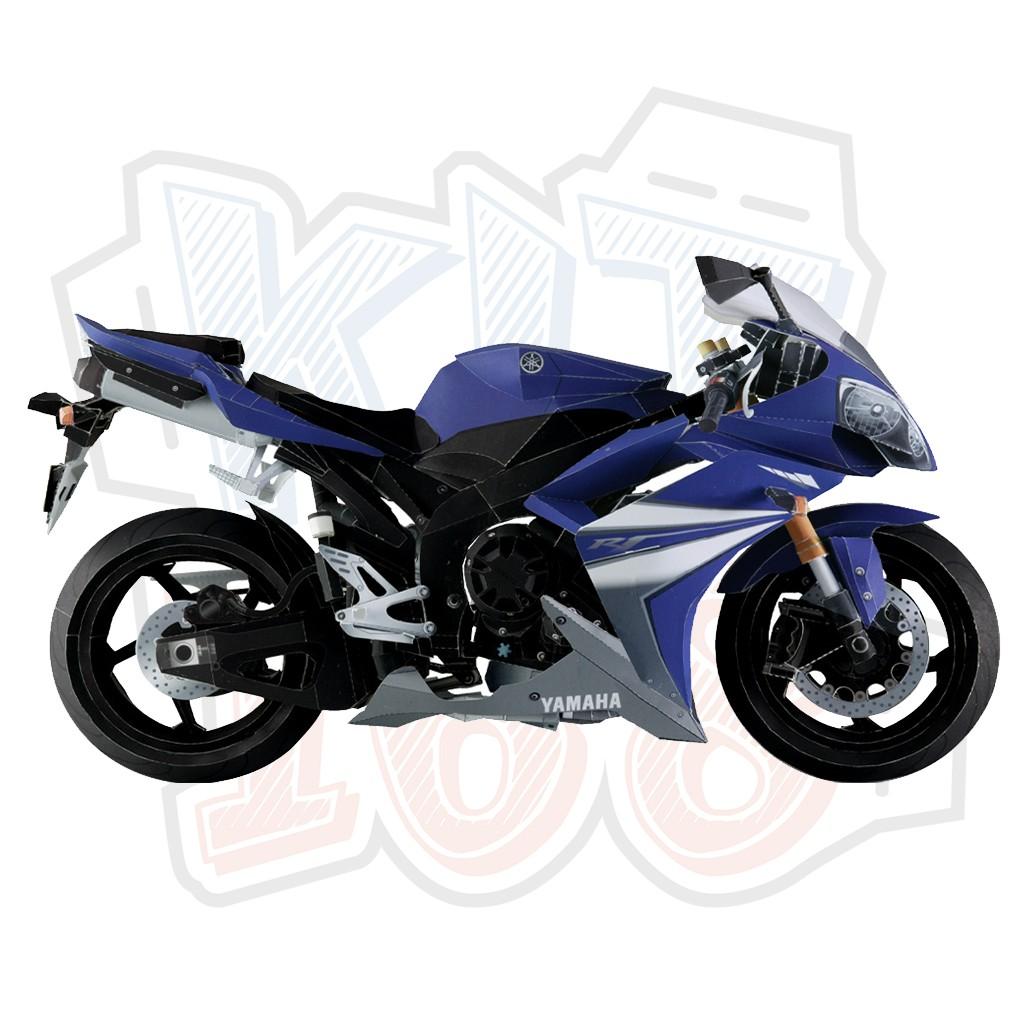 Mô hình giấy xe máy Yamaha YZF-R1