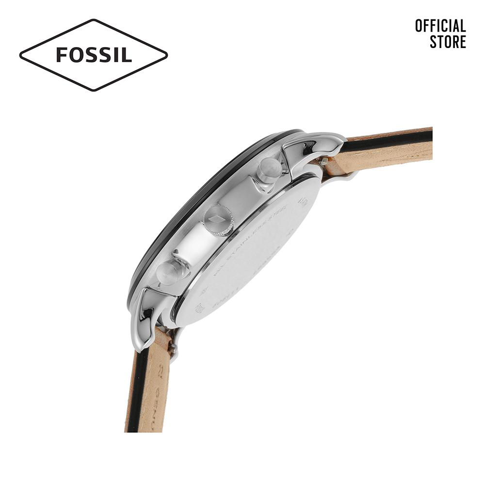 Đồng hồ nam FOSSIL Neutra dây da FS5627 - màu nâu