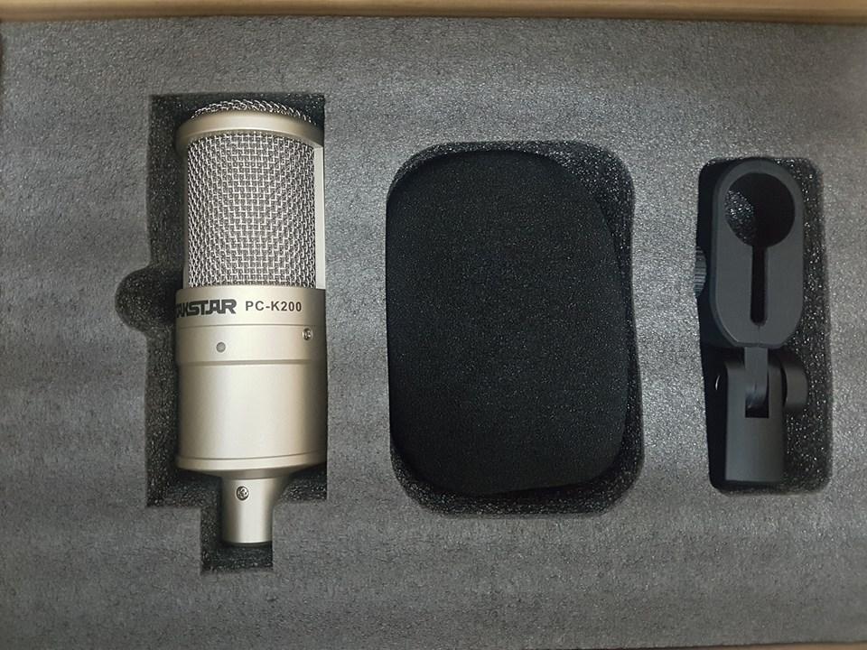 Micro Thu Âm Takstar PC-K200 - Chính Hãng