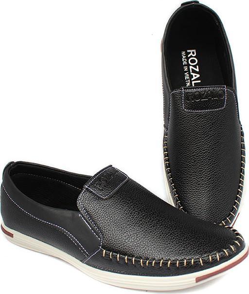 Giày lười da khâu siêu bền thời trang nam ZARIS ZR5732 - 40