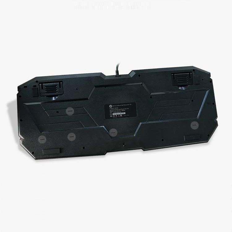 Bộ bàn phím và chuột HP GK1000 dành cho văn phòng cực êm - chuột led đa màu (Đen) Hàng Chính Hãng
