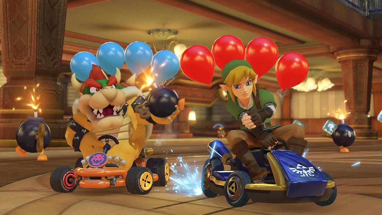 Đĩa game Mario Kart 8 Deluxe cho máy Switch