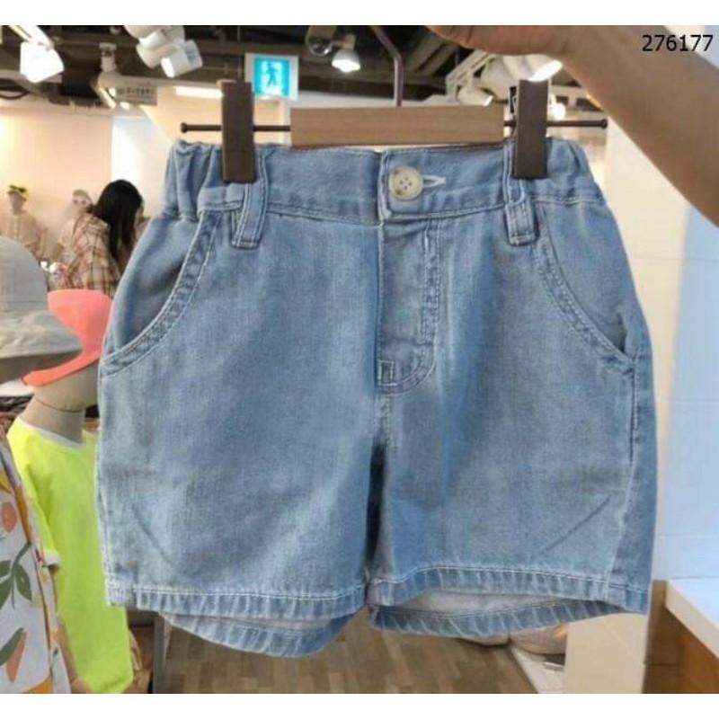 Quần Short jean mềm mại cho bé