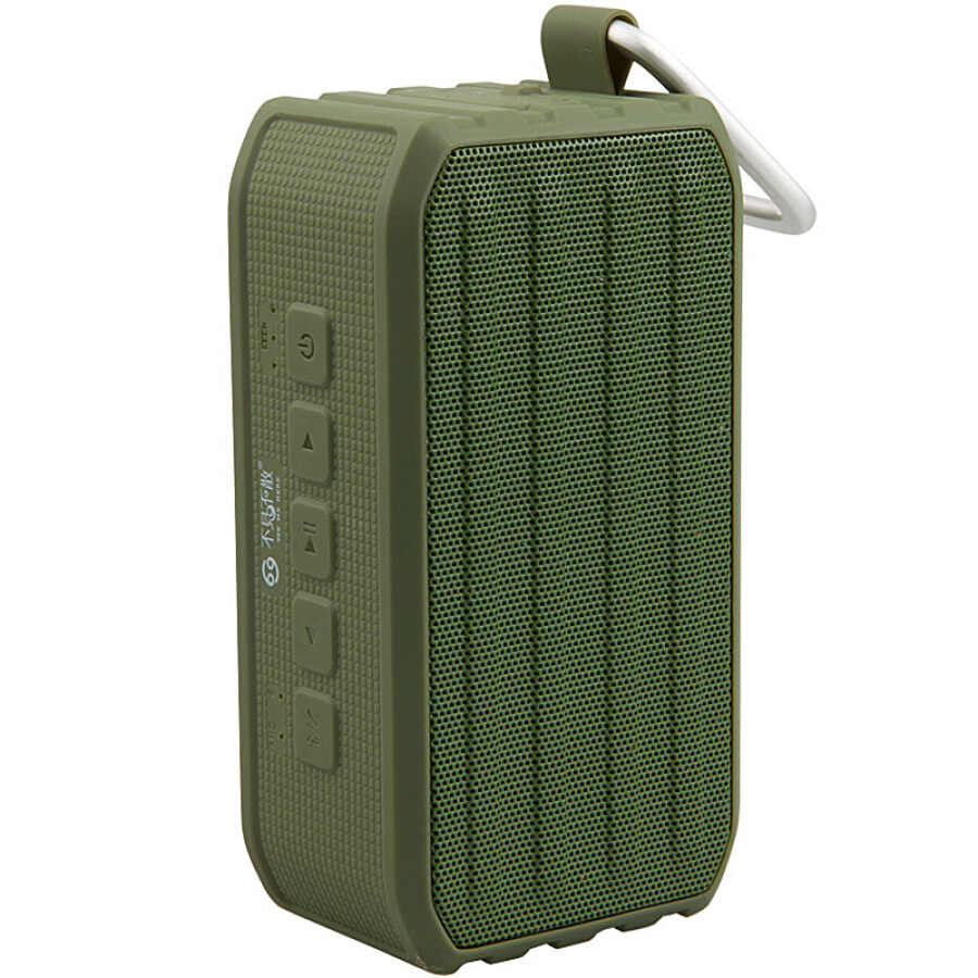 See me here BV370 waterproof wireless Bluetooth speaker 4.0 subwoofer outdoor portable phone mini Bluetooth audio army green
