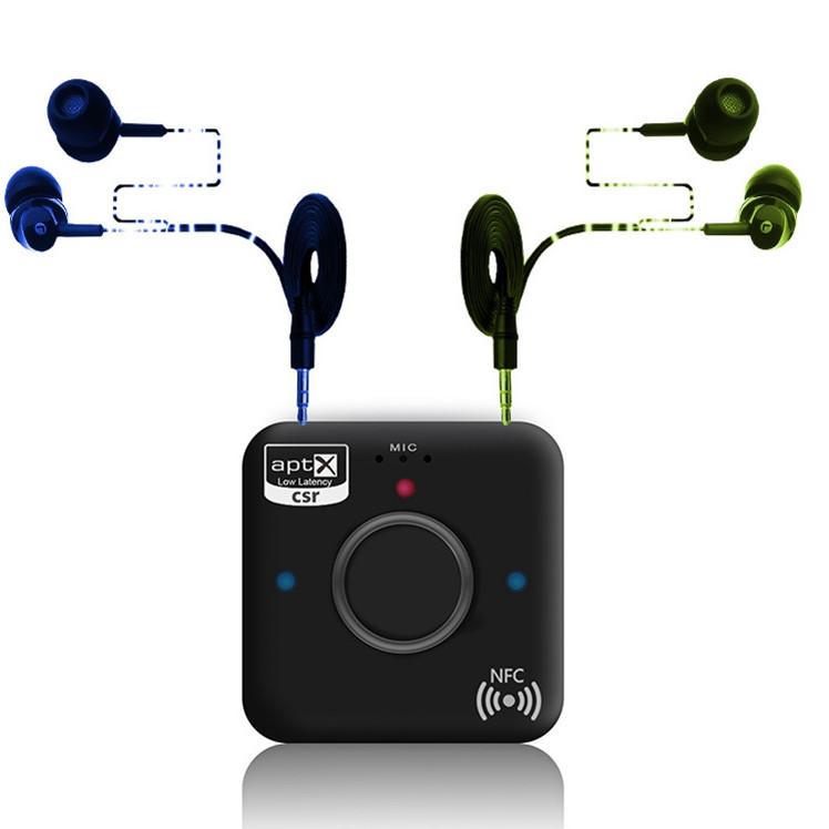 Hộp tạo âm thanh bluetooth 4.2 cho loa hỗ trợ APT-X - ADB B7 Plus