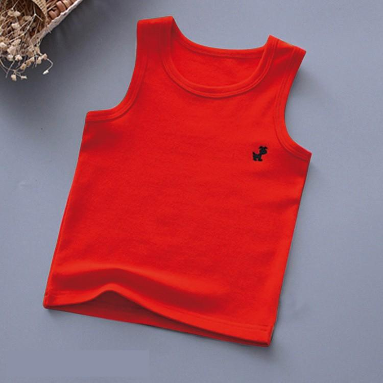 Áo ba lỗ bé trai bé gái TrueKids cotton 100% mềm mịn