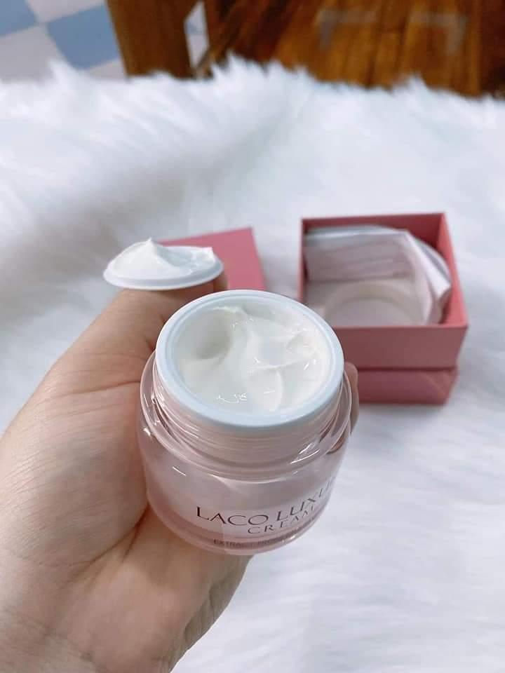 Kem dưỡng da ban ngày LACO LUXURY Cream chống nắng, makeup, dưỡng ẩm tặng băng đô xinh xắn