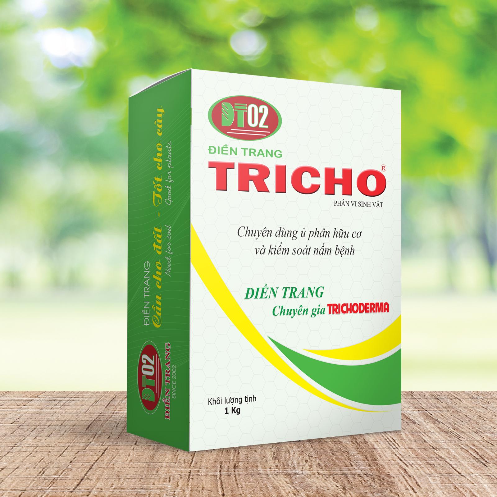 Combo 3 hộp Trichoderma Ngăn Ngừa Nấm Bệnh 1Kg + 3 hũ Phân Bón Lá TRIMIX-DT Siêu Ra Rễ 120g