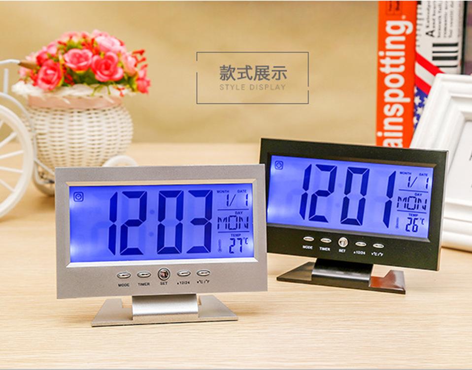 Đồng hồ led để bàn 7 chức năng