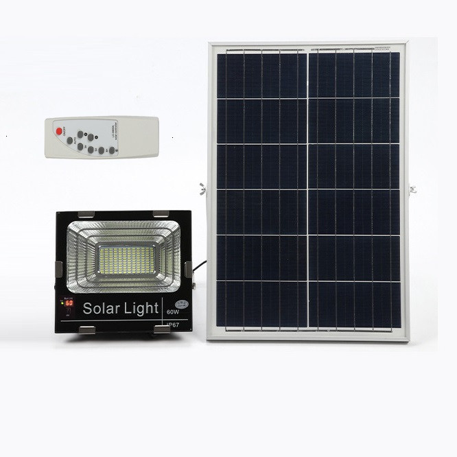 Đèn led năng lượng mặt trời SUN-2860 60W, Đèn năng lượng mặt trời IP 67