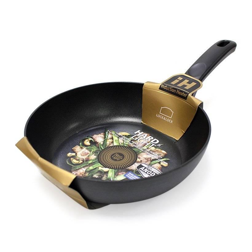 Chảo cookplus Hard&light nông lòng 24cm LHB2243OK-IH