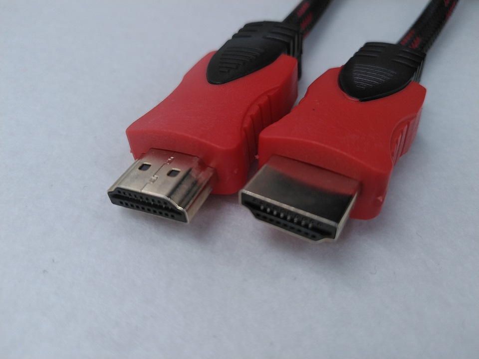 Cáp HDMI, dây HDMI tròn bọc lưới 2 đầu chống nhiễu, xuất Video Full HD, Audio.
