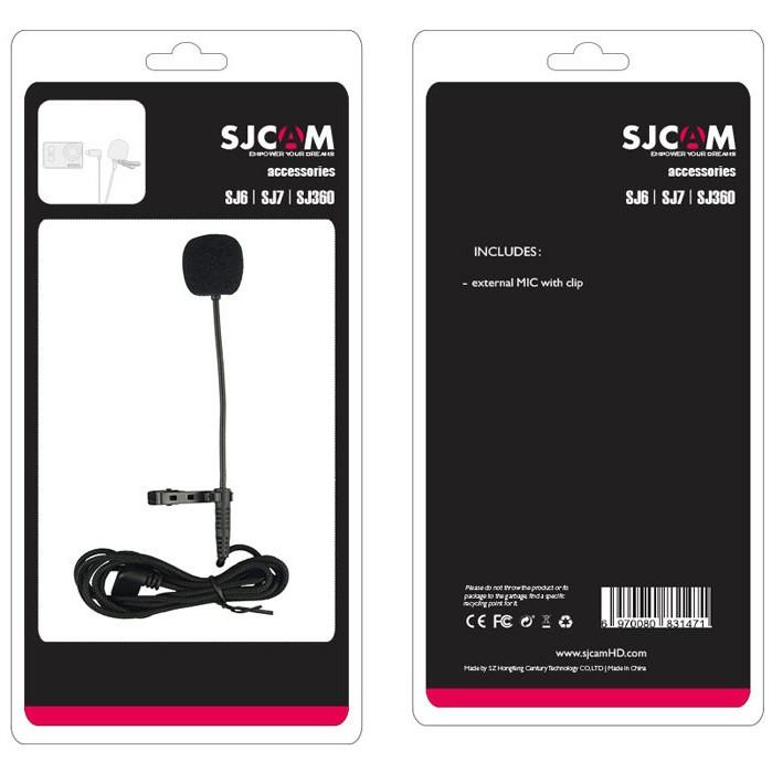 Microphone SJCAM cho SJCAM SJ6 Lengend, SJ7 Star - Hàng Chính Hãng