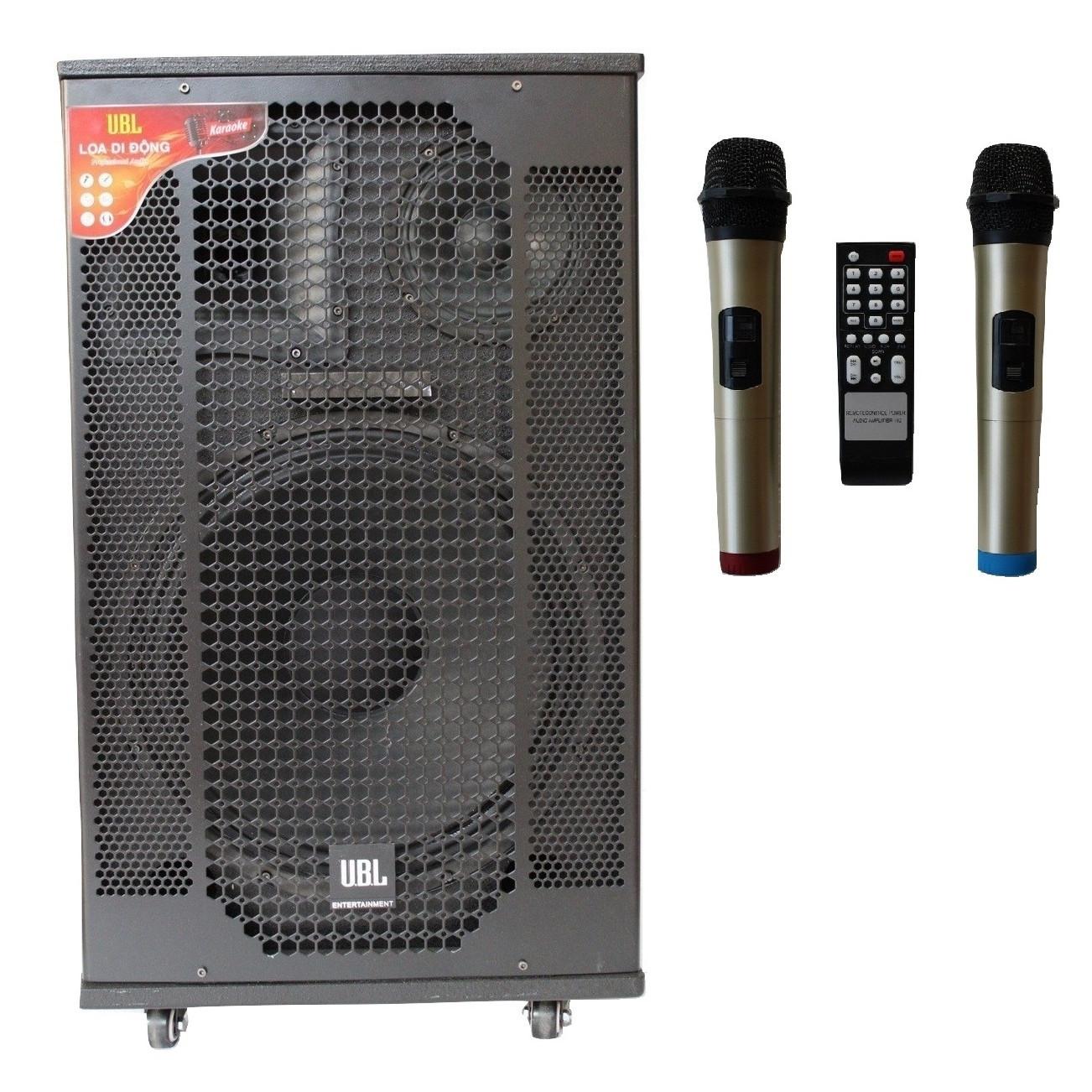 Loa Kéo Di Động Karaoke Bass 40 U.B.L LK-40U60 (800W) 4 Tấc - Chính Hãng