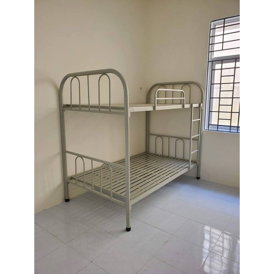Giường sắt 2 tầng ngang 1m X 2m GS73