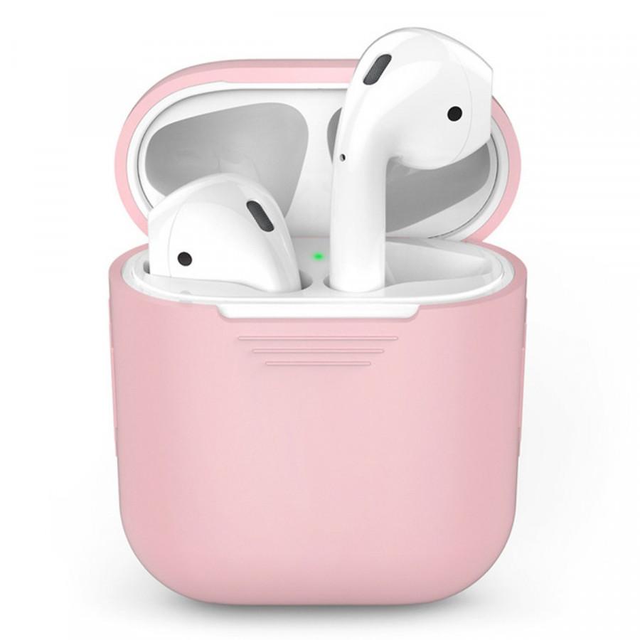 Bao case silicon cho tai nghe Apple Airpods / Earpods hiệu Hotcase (siêu mỏng, bảo vệ toàn diện, chống trầy, chống bụi) - Hàng chính hãng