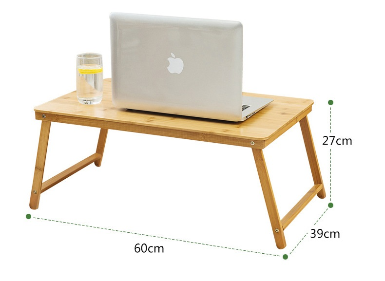 Bàn Gấp Học Sinh Thông Minh Gấp Gọn, Bàn Xếp Laptop Đa Năng Có Thể Gấp Gọn Tùy Chỉnh Nhiều Góc Độ. Chất Liệu Trúc Siêu Nhẹ - Hàng Chính Hãng Tamayoko TM02