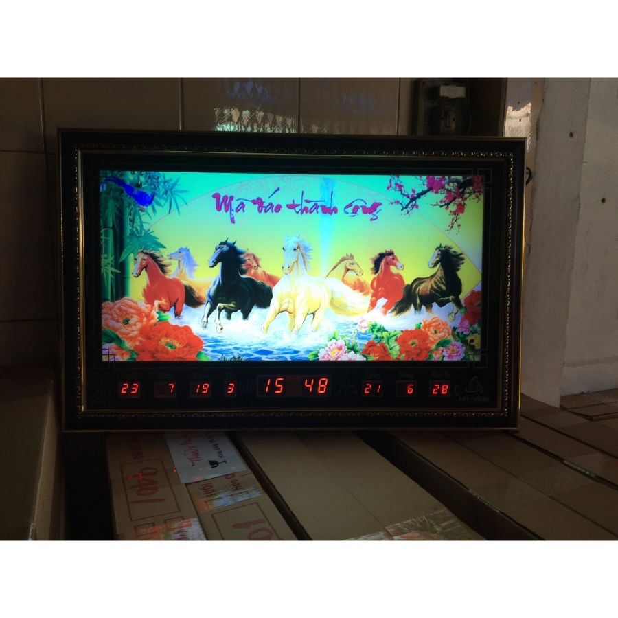 Đồng Hồ Lịch Vạn Niên Cát Tường 68109