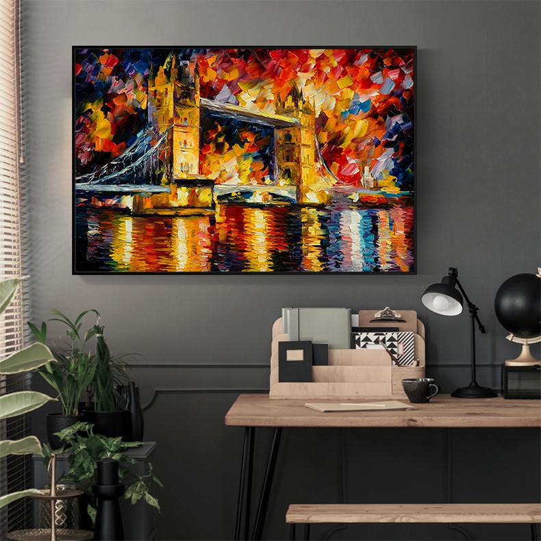 Tranh cao cấp Cầu London Model: AZ1-0263