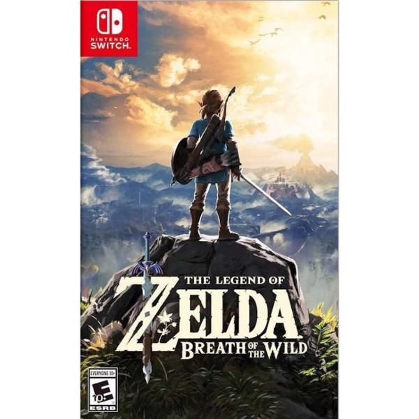 Đĩa Game Nintendo Switch - The Legend of Zelda: Breath of the Wild Nguyên Seal Hệ US - Hàng Chính Hãng