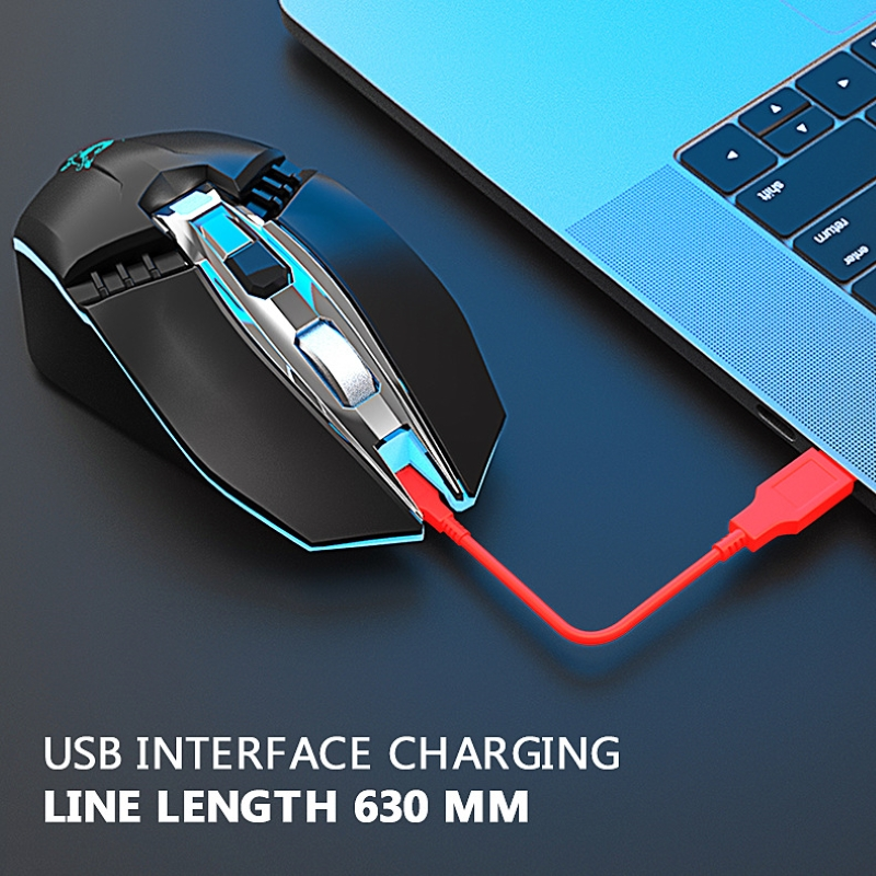 Chuột Không Dây X5 - Bluetooth 5.0 -  Wireless 2.4ghz - Pin sạc - chống ồn - Hàng nhập khẩu